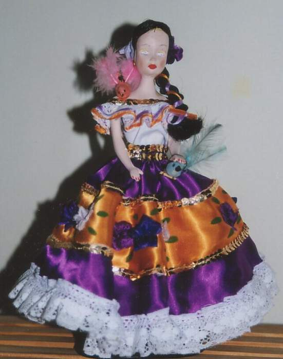 Colombian doll